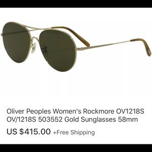 d8856fe188a 💯Authentic Oliver Peoples Rockmore OV12186 503552